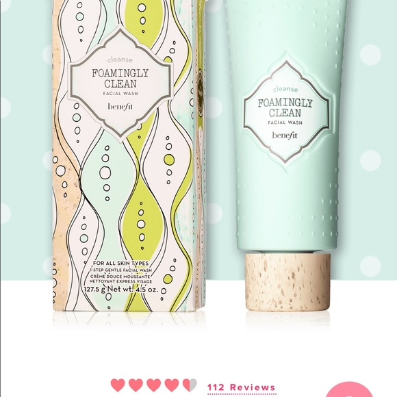 Benefit foaming clean face wash